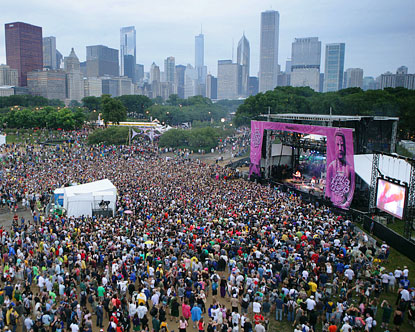 It's the 20th anniversary of LOLLAPALOOZA, and this year it's ...
