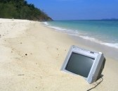 981729-television-on-the-beach