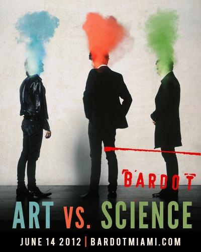 art vs. science bardot