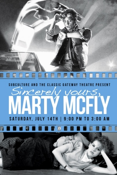 Sincerely Yours, Marty McFly front