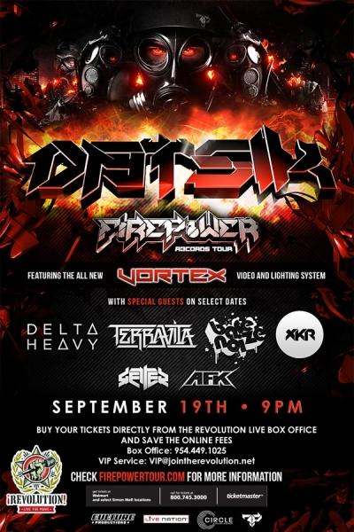 Datsik Revolution Fort Lauderdale