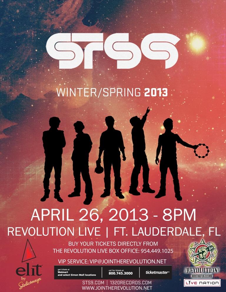 STS9 Revolution