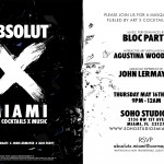 Absolut vodka miami wynwood bloc party