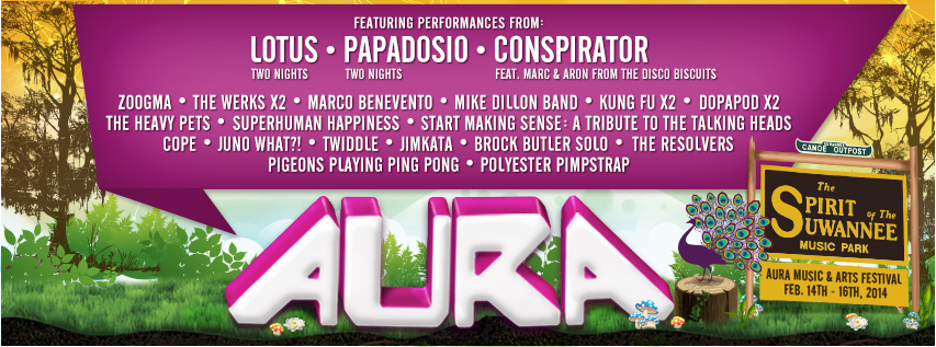 AURA Music and Arts Festival Announces 2014 Lineup