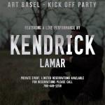Kendrick Lamar Basel Tickets