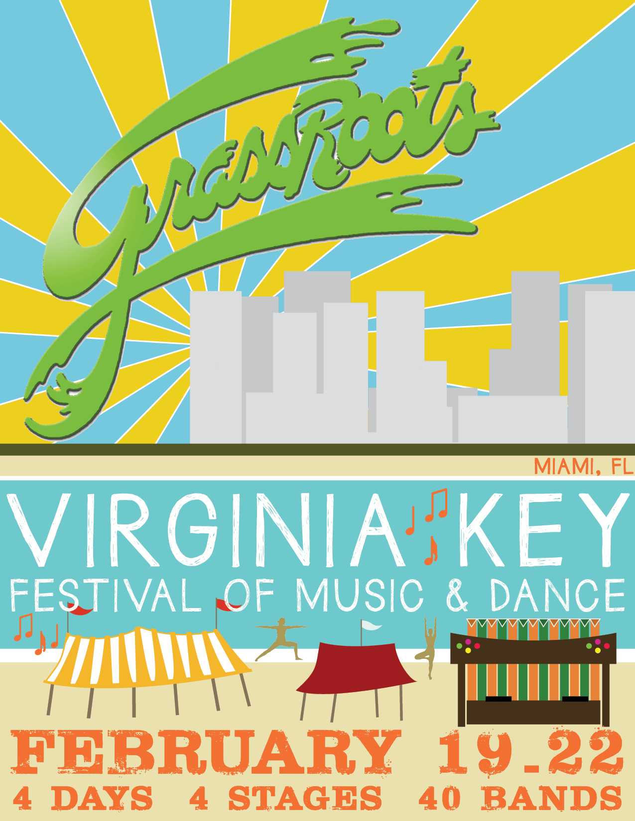 Grassroots Fest Virginia Key 2015