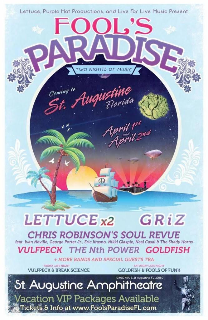fool's paradise, st augustine, lettuce, vulfpeck